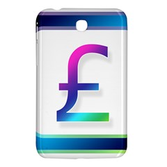 Icon Pound Money Currency Symbols Samsung Galaxy Tab 3 (7 ) P3200 Hardshell Case