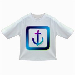 Icon Anchor Containing Fixing Infant/toddler T Shirts