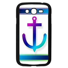 Icon Anchor Containing Fixing Samsung Galaxy Grand Duos I9082 Case (black)