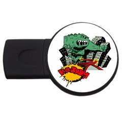 Monster Usb Flash Drive Round (2 Gb)