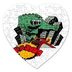 Monster Jigsaw Puzzle (heart)