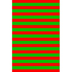Pattern Lines Red Green 5 5  X 8 5  Notebooks by Nexatart