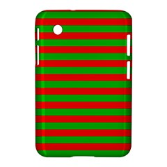 Pattern Lines Red Green Samsung Galaxy Tab 2 (7 ) P3100 Hardshell Case