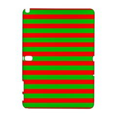 Pattern Lines Red Green Galaxy Note 1 by Nexatart