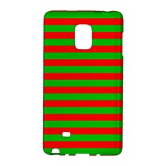 Pattern Lines Red Green Galaxy Note Edge by Nexatart