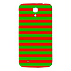 Pattern Lines Red Green Samsung Galaxy Mega I9200 Hardshell Back Case