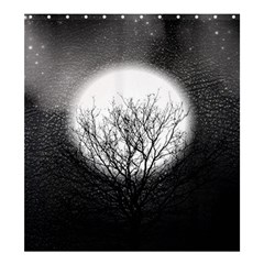 Starry Sky Shower Curtain 66  X 72  (large)  by theunrulyartist