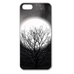 Starry Sky Apple Seamless Iphone 5 Case (clear) by theunrulyartist