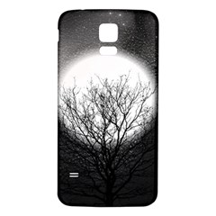 Starry Sky Samsung Galaxy S5 Back Case (white) by theunrulyartist