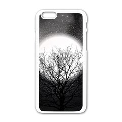 Starry Sky Apple Iphone 6/6s White Enamel Case by theunrulyartist