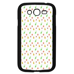 Fruit Pattern Vector Background Samsung Galaxy Grand Duos I9082 Case (black)