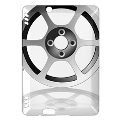 Car Wheel Chrome Rim Kindle Fire Hdx Hardshell Case by Nexatart