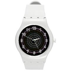 Circos Comp Inv Round Plastic Sport Watch (m) by Nexatart