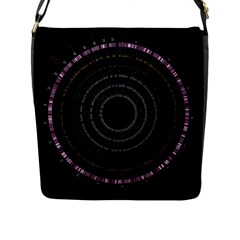 Circos Comp Inv Flap Messenger Bag (l)  by Nexatart