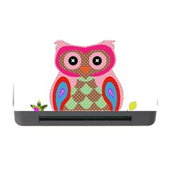 Owl Colorful Patchwork Art Memory Card Reader With Cf by Nexatart