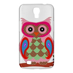 Owl Colorful Patchwork Art Samsung Galaxy Mega 6 3  I9200 Hardshell Case by Nexatart