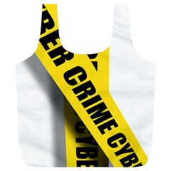 Internet Crime Cyber Criminal Full Print Recycle Bags (l)  by Nexatart