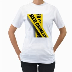 Internet Crime Cyber Criminal Women s T Shirt (white)