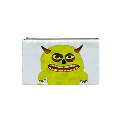 Monster Troll Halloween Shudder Cosmetic Bag (small)