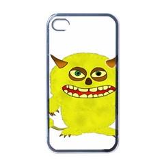 Monster Troll Halloween Shudder Apple Iphone 4 Case (black) by Nexatart