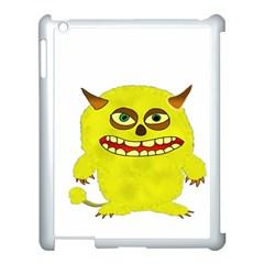Monster Troll Halloween Shudder Apple Ipad 3/4 Case (white) by Nexatart