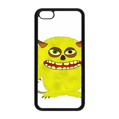 Monster Troll Halloween Shudder Apple Iphone 5c Seamless Case (black)
