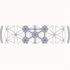 Tree Of Life Flower Of Life Stage Large Bar Mats by Nexatart