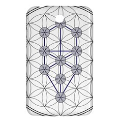 Tree Of Life Flower Of Life Stage Samsung Galaxy Tab 3 (7 ) P3200 Hardshell Case