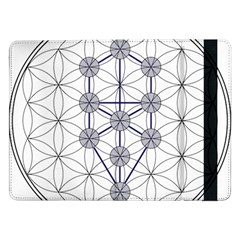 Tree Of Life Flower Of Life Stage Samsung Galaxy Tab Pro 12 2  Flip Case