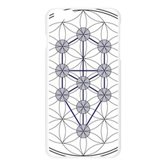 Tree Of Life Flower Of Life Stage Apple Seamless iPhone 6 Plus/6S Plus Case (Transparent) by Nexatart