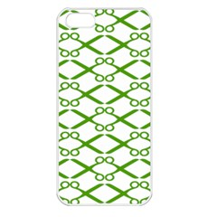 Wallpaper Of Scissors Vector Clipart Apple Iphone 5 Seamless Case (white)