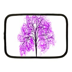 Purple Tree Netbook Case (medium)