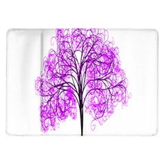 Purple Tree Samsung Galaxy Tab 10 1  P7500 Flip Case by Nexatart