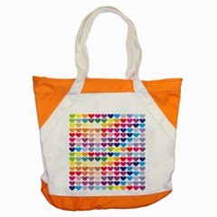 Heart Love Color Colorful Accent Tote Bag by Nexatart