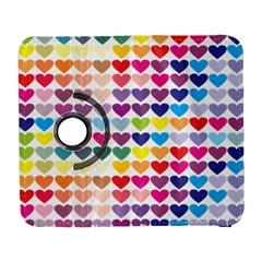 Heart Love Color Colorful Galaxy S3 (flip/folio) by Nexatart