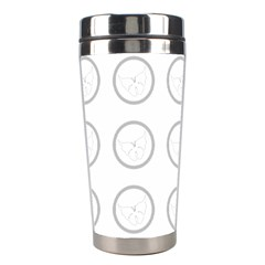 Butterfly Wallpaper Background Stainless Steel Travel Tumblers by Nexatart