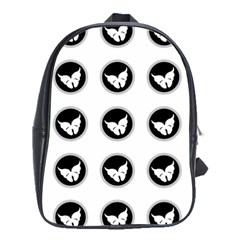 Butterfly Wallpaper Background School Bags (xl)