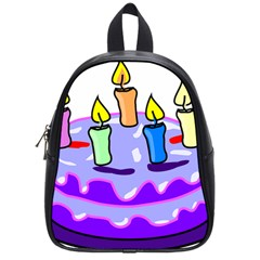 Cake Happy Birthday School Bags (small)