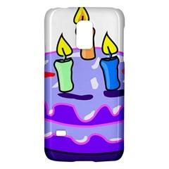 Cake Happy Birthday Galaxy S5 Mini by Nexatart