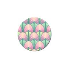 Seamless Pattern Seamless Design Golf Ball Marker