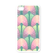 Seamless Pattern Seamless Design Apple Iphone 4 Case (white)