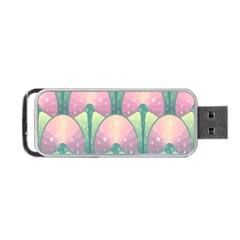 Seamless Pattern Seamless Design Portable Usb Flash (one Side)