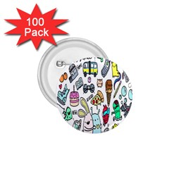 Story Of Our Life 1 75  Buttons (100 Pack)