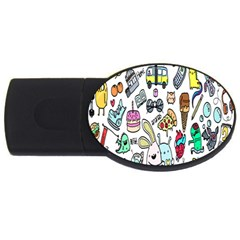 Story Of Our Life USB Flash Drive Oval (4 GB)