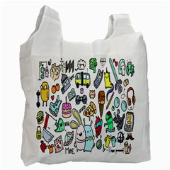 Story Of Our Life Recycle Bag (one Side) by Nexatart