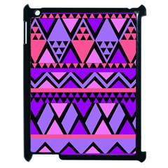 Seamless Purple Pink Pattern Apple Ipad 2 Case (black) by Nexatart