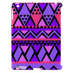 Seamless Purple Pink Pattern Apple Ipad 3/4 Hardshell Case (compatible With Smart Cover) by Nexatart