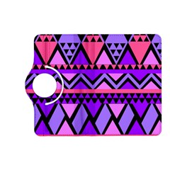 Seamless Purple Pink Pattern Kindle Fire Hd (2013) Flip 360 Case by Nexatart