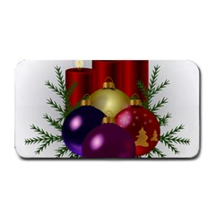 Candles Christmas Tree Decorations Medium Bar Mats