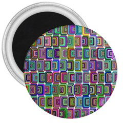 Psychedelic 70 S 1970 S Abstract 3  Magnets by Nexatart